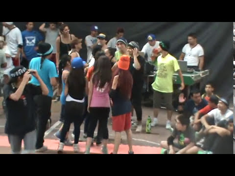 LADO B BREAK DANCE (BATALLAS BGIRLS 2012)