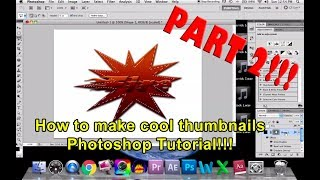 How to Make a Cool Thumbnail (PHOTOSHOP TUTORIAL!!!) Pt.2