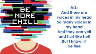 Download Lagu Voices In My Head - BE MORE CHILL (LYRICS) Gratis STAFABAND