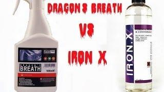 ValetPRO Dragon's Breath vs. CarPRO Iron-X decontamination after 2 years www.kosmetykaaut.pl