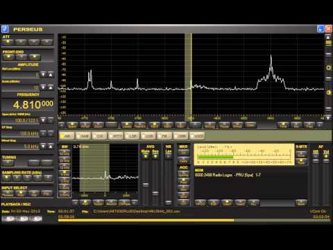 Radio Logos (Peru) 4810kHz 5/3/13 ~03:03* - Closing Announcement & National Anthem