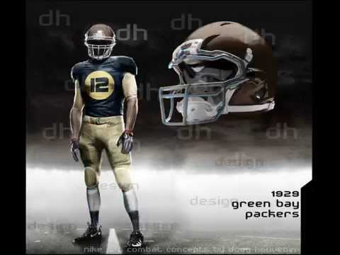 New NFL Concept Uniforms 2012