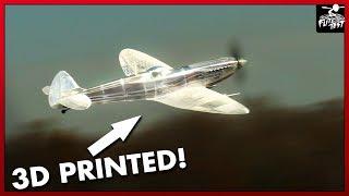 3D Printed Monster Spitfire | FLITE TEST