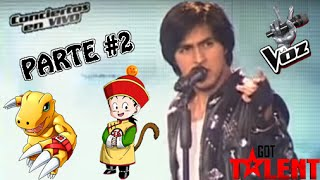 Participantes que triunfaron en TV con canciones de anime | Makkusu18 | PARTE 2/5