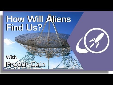 How Will Aliens Find Us?