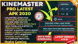 How To Download Kinemaster Video Editor Premium Mod v4.11.16.14372 unlocked | Hydra Gaming.🔥🔥