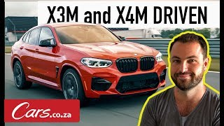 New BMW X3M and X4M Review - International First Drive