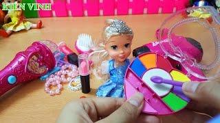 Bộ đồ chơi trang điểm - Trang điểm cho búp bê xinh đẹp makeup toy set
