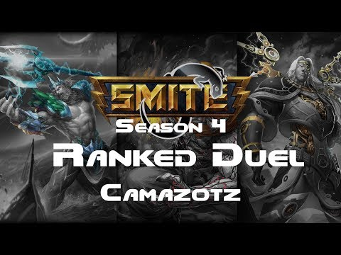Smite - Ranked 1v1 Duel (Diamond 1) - Camazotz Season 4