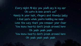 Ed Sheeran - Hearts Don't Break Around Here (lyrics)