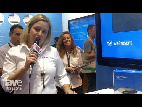 ISE 2016: wePresent Previews Their New Education Model, the WiPG-1600