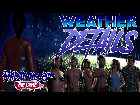 WEATHER More Details!! | Swimsuit Outfits Revealed!! | Friday the 13th: The Game