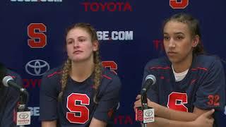 Players vs Stony Brook Post Game