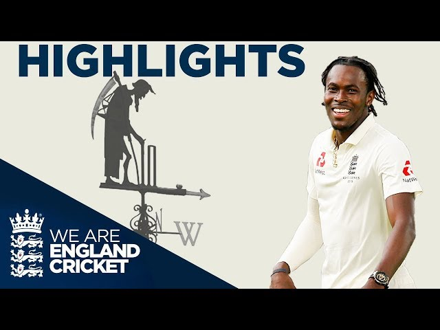 Stokes Hits Ton But Aus Earn Draw | The Ashes Day 5 Highlights | Second Specsavers Ashes Test 2019 thumbnail