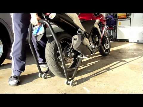 Motorcycle Stands- How To Use