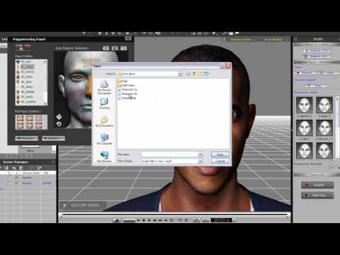 iClone5 Quick Fix Tutorial – Facial Puppet Motion