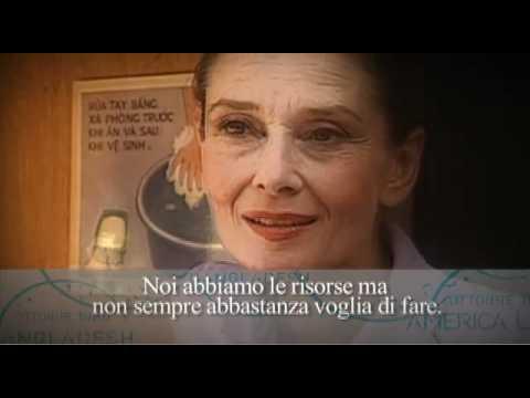 Audrey Hepburn per UNICEF: arriveremo ovunque ci sia un bambino da salvare