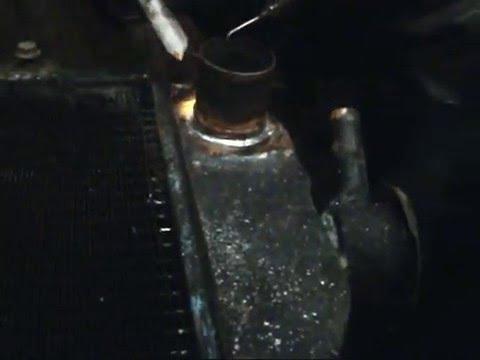 Пайка радиатора ваз своими руками
