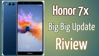Honor 7x Andriod New Update Riview  | New Big Update April