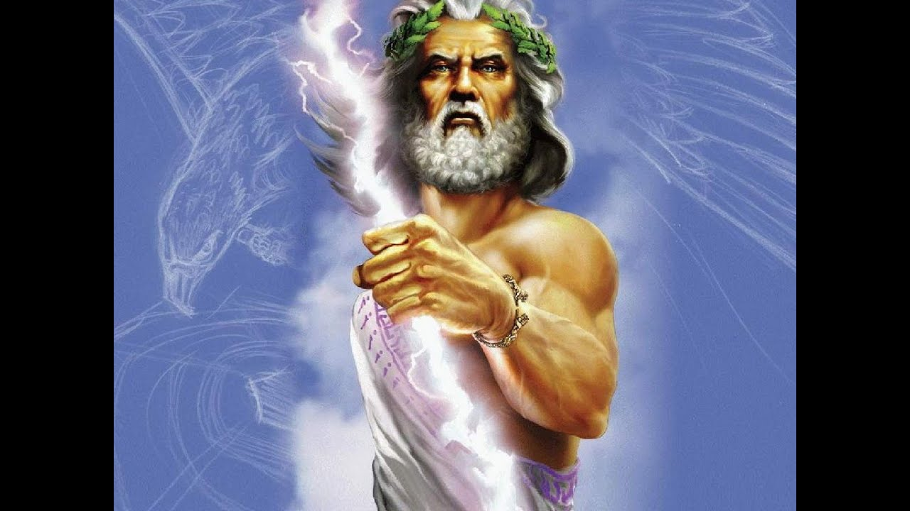 zeus the god of thunder: