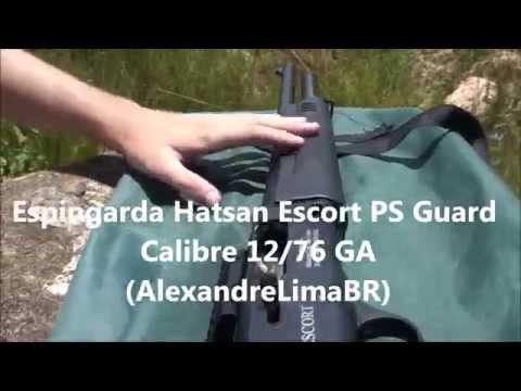 Espingarda Hatsan Escort Magnum 12/76 GA Semiautomática