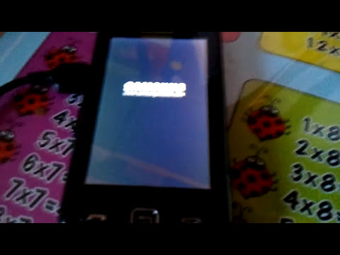 Samsung Star GT-S5230 Telefoonblokkering Resetten