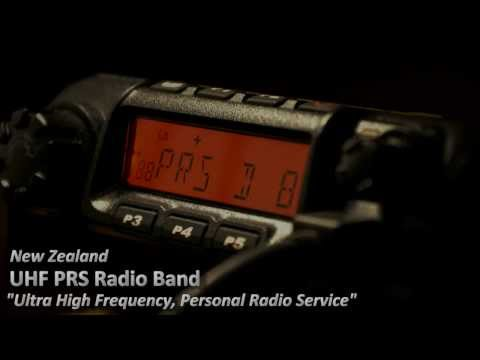 UHF PRS Radio in New Zealand