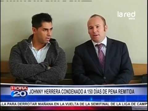 Johnny Herrera fue condenado a 150 días de pena remitida