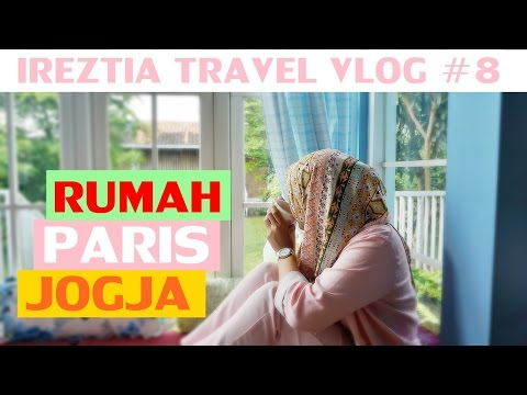 TRAVEL VLOG Eps. 8 : RUMAH PARIS ROOM TOUR - KEBUN BUAH MANGUNAN