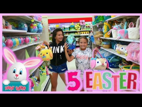5 ITEMS TARGET  CHALLENGE EASTER EDITION  SISTER FOREVER