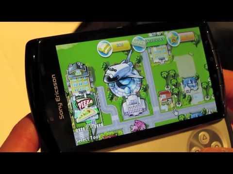 Sony Ericsson Xperia Play Game Demos