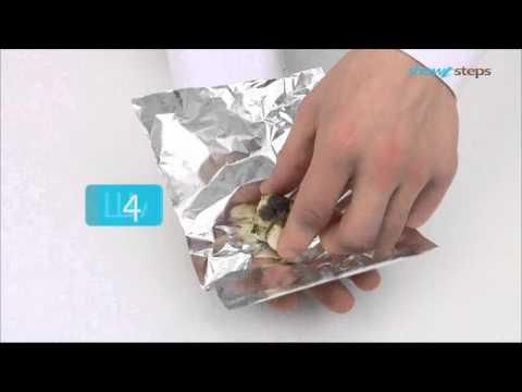 Как запечь чеснок - видео