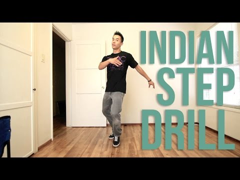 How To Breakdance | Indian Step Drill | Top Rock Basics video