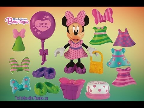 Disney Junior Mickey Mouse Clubhouse Minnie Mouse Bow tique Birthday Bow tique S