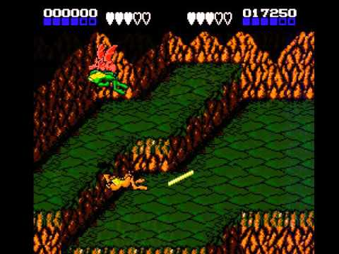 Battletoads Flying Pig Graphical Glitch