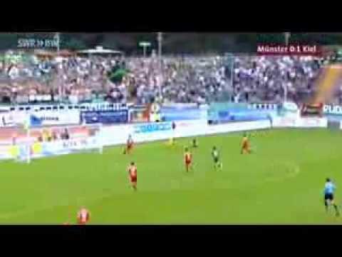Hier die Partie des 5. Spieltag´s der 3.Liga zwischen SC Preu�en Münster und der KSV Holstein Kiel.