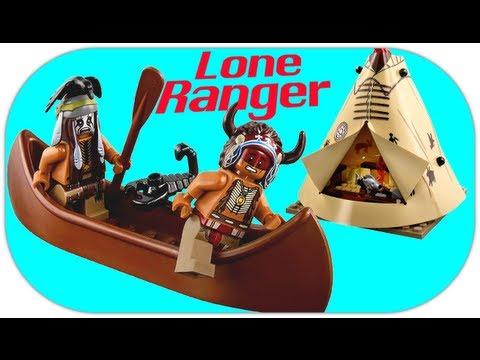 LEGO 79107 Comanche Camp LEGO Disney Lone Ranger Review