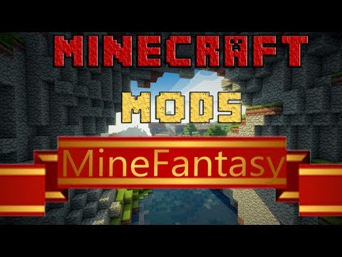 Minecraft Mods - MineFantasy - Español - Review  - 1.5.2