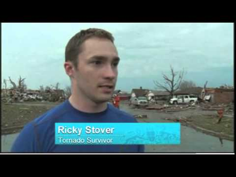 Survivor said he thought he was going to die when tornado hit his home