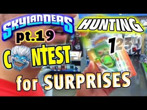 Skylanders Surprise Hunting Part 1 of 4 (+ Contest) Giants Hunt pt.19