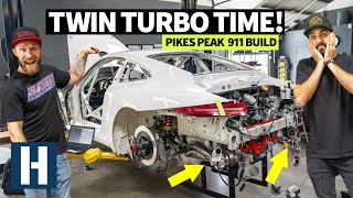Crunch Time: Custom Machined 900hp Porsche GT3 Cup Car Engine Dropped in, 7 Days Left 'til Testing