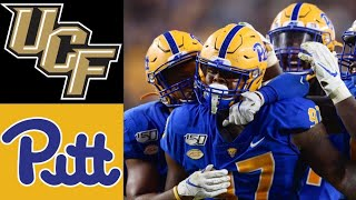 #15 UCF vs PITT Highlights | NCAAF Week 4 | College Football Highlights