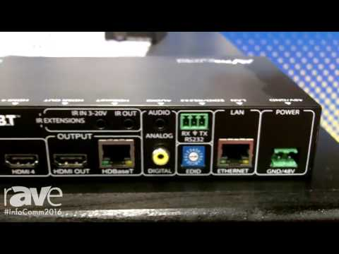 InfoComm 2016: AVProConnect Features SW411-SUHD Switch and Receiver