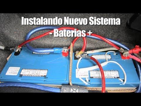 Instalando Nuevo Sistema - Baterias