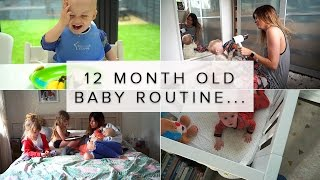 12 MONTH OLD BABY ROUTINE/DAY IN THE LIFE