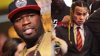 "50 Cent Speaks On 6IX9INE Snitching... ""He Never Was Gangsta, He Was Only Surrounded By Gangstas"""