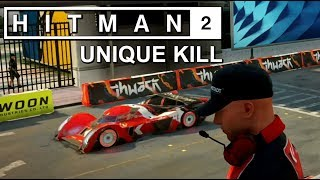 Beating the HITMAN 2 demo the