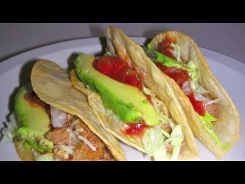 Beef Tacos Recipe – How to make shredded beef for Mexican food