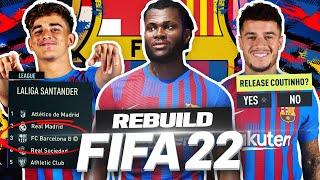 THE FIFA 22 *BARCELONA B* REBUILD!!! 💰