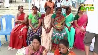 Pombilai Orumai continues protest against M M Mani
